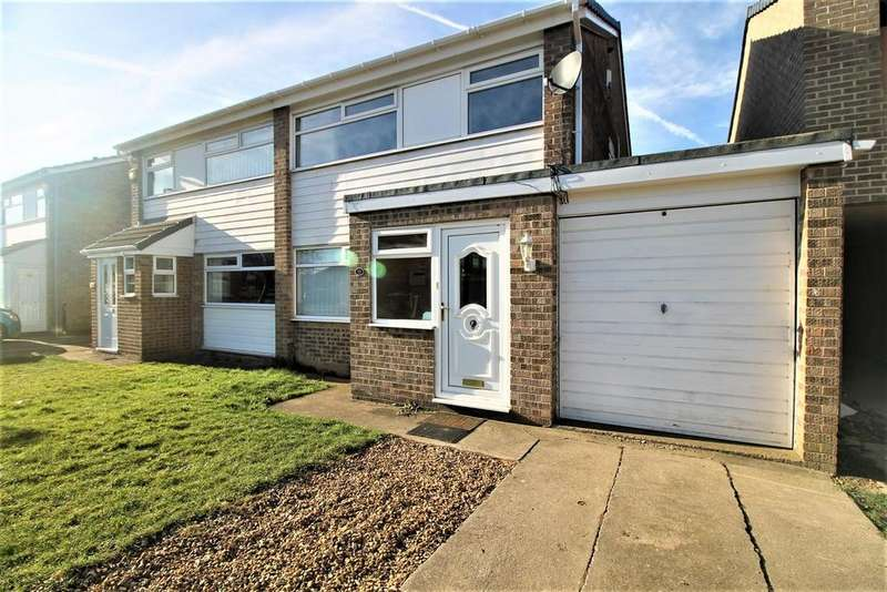 3 Bedrooms Semi Detached House for sale in Hurn Walk, Thornaby, Stockton-On-Tees