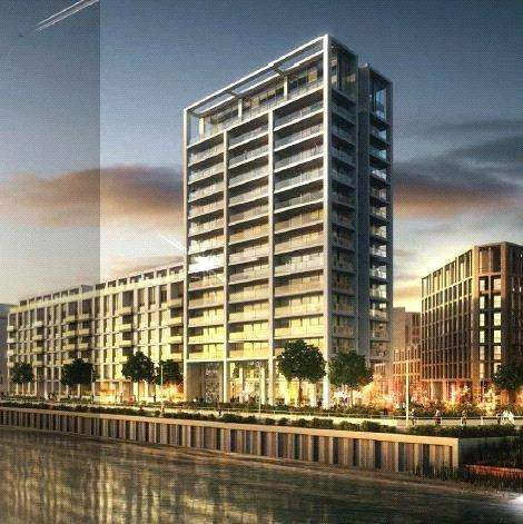 Studio Flat for sale in Endeavour House, Royal Wharf, London, E16