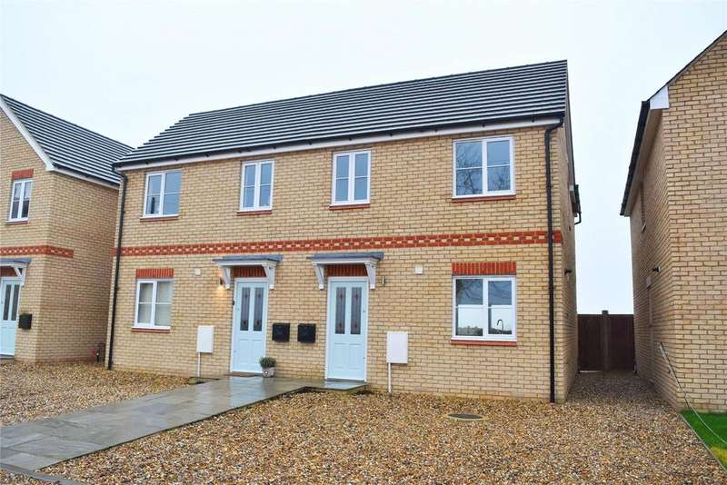 3 Bedrooms Semi Detached House for sale in Threeways, Leighton Road