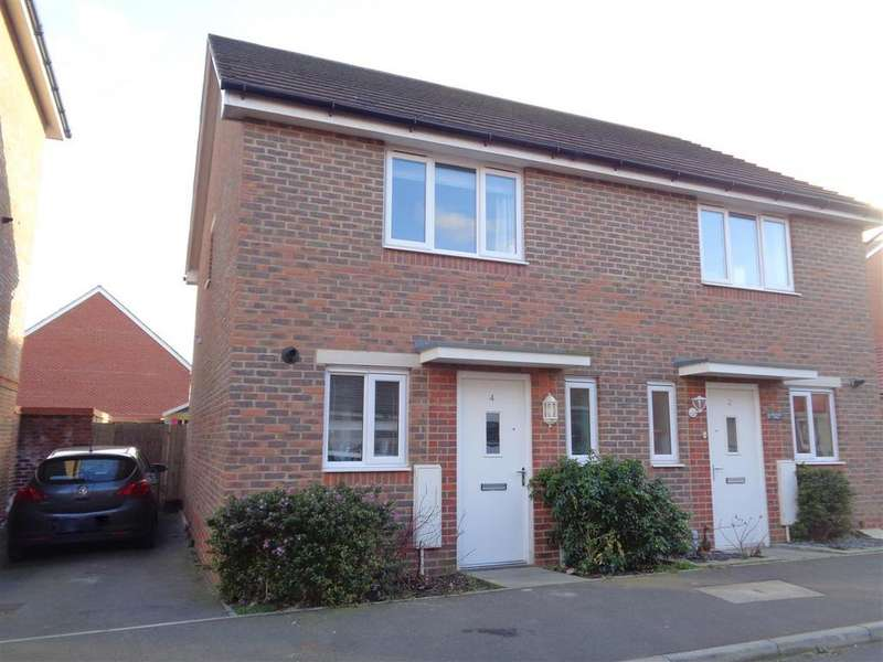 2 Bedrooms Semi Detached House for sale in Meaden Way, Felpham