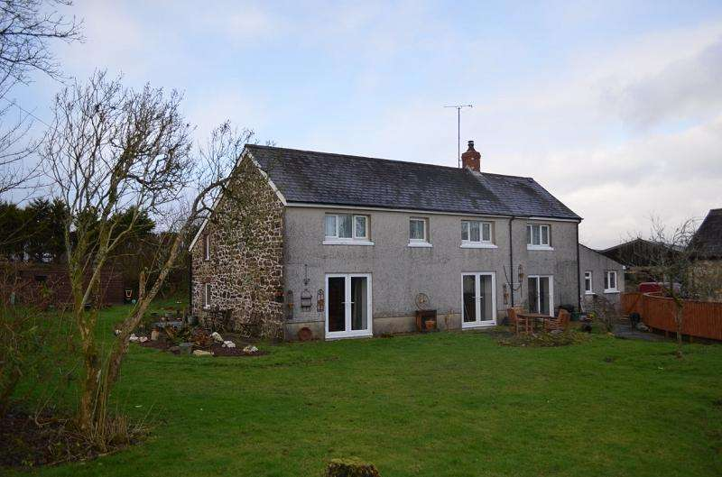 4 Bedrooms Land Commercial for sale in Bedw , Rhydargaeau, Carmarthen, Carmarthenshire. SA32 7DT