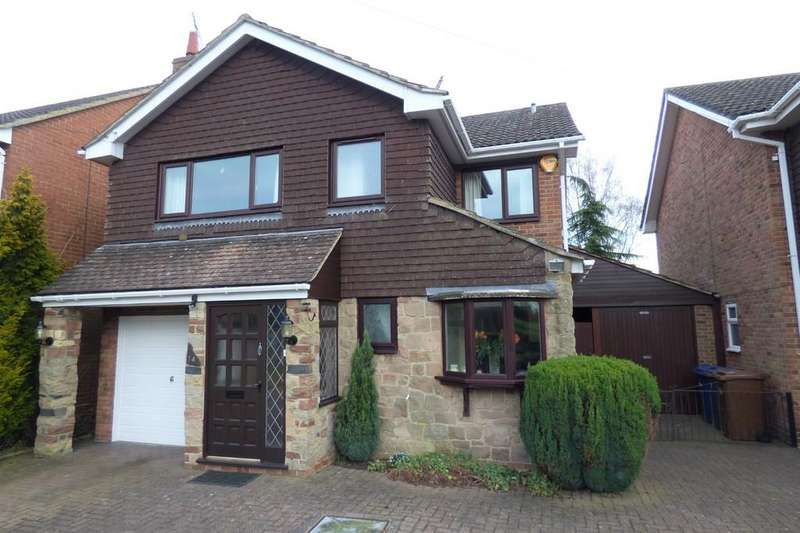 4 Bedrooms Detached House for sale in Jacks Lane, Marchington