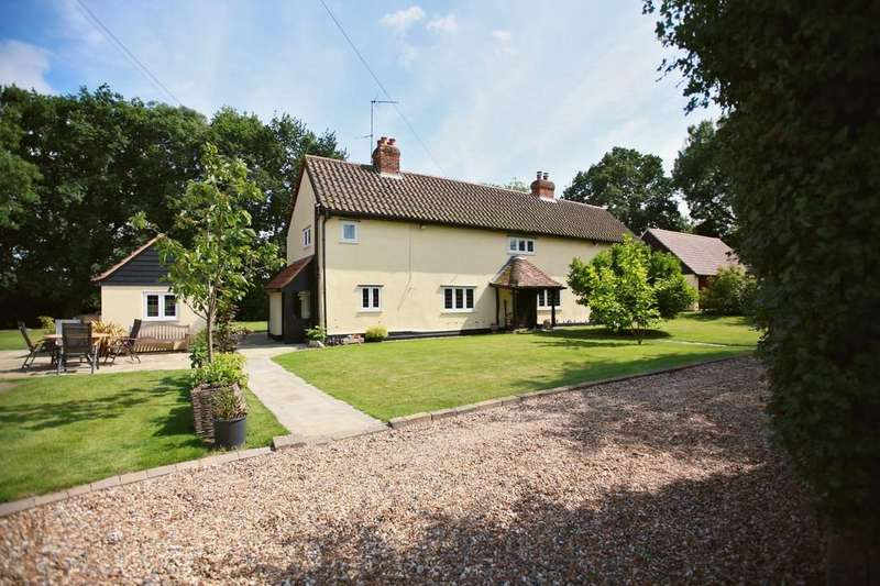 4 Bedrooms Detached House for sale in Gubbions Green, Great Leighs, CM3 1PS