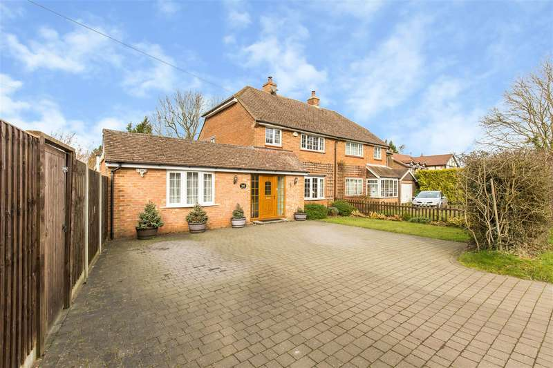 4 Bedrooms Semi Detached House for sale in Rag Hill Road, Tatsfield, Westerham