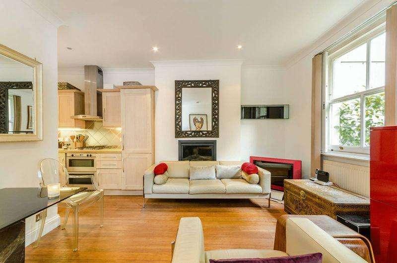 1 Bedroom Apartment Flat for sale in Blomfield Villas, London