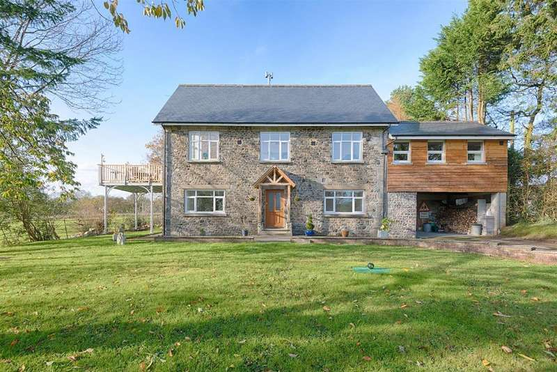 4 Bedrooms Detached House for sale in Cynghordy, Llandovery