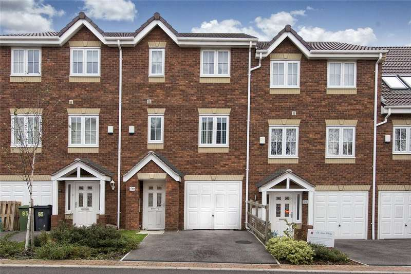 4 Bedrooms Town House for sale in Spring Place Gardens, Mirfield, West Yorkshire, WF14