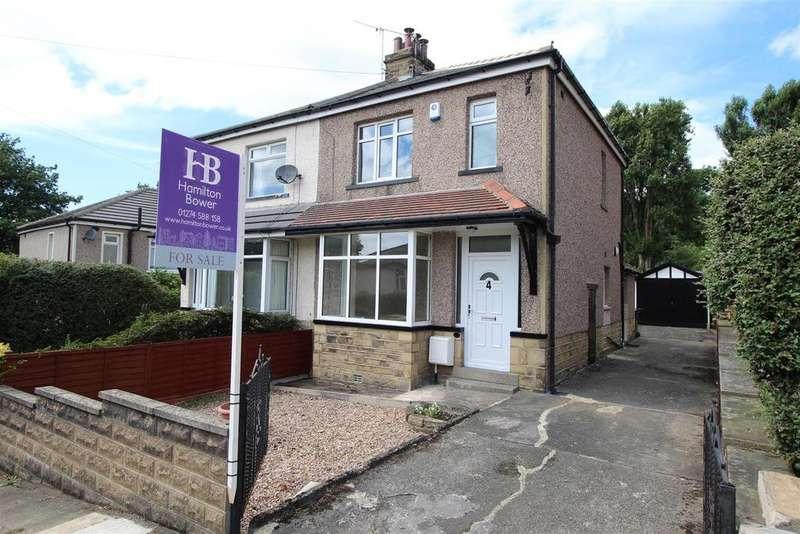 3 Bedrooms Semi Detached House for sale in Poplar Grove, Shipley