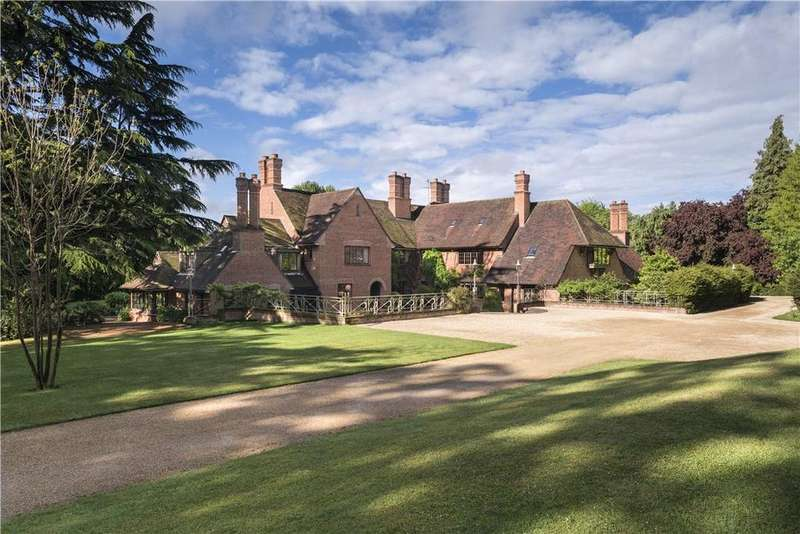 6 Bedrooms Detached House for sale in Witheridge Lane, Penn, Buckinghamshire, HP10