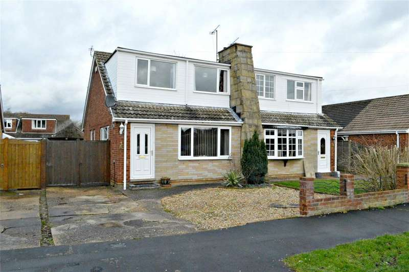 3 Bedrooms Semi Detached Bungalow for sale in Langton Road, Holton Le Clay, Grimsby, North EastLincolnshire, DN36
