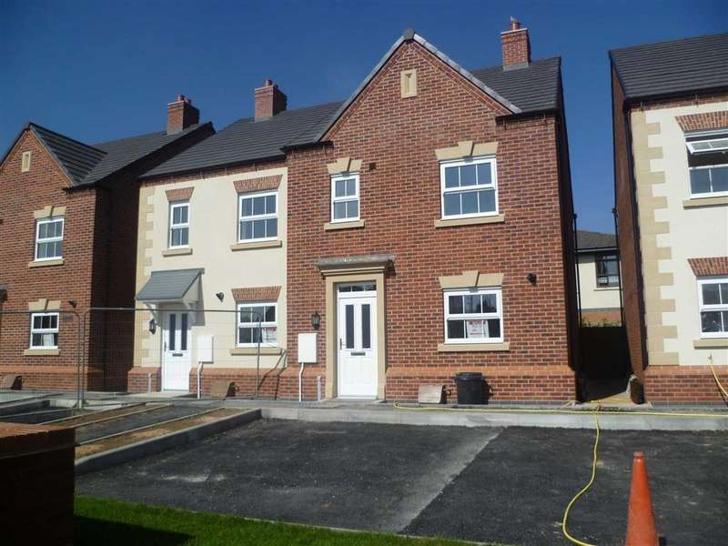 3 Bedrooms Semi Detached House for rent in Peacock Place, Wigston, Leicestershire