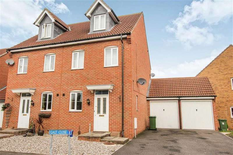 3 Bedrooms Semi Detached House for sale in Galt Close, Wickford, Essex