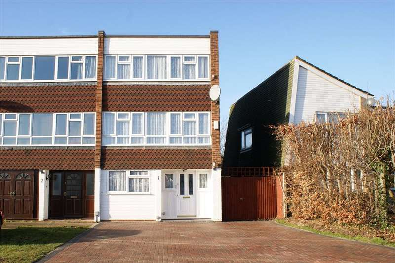 4 Bedrooms End Of Terrace House for sale in Leyburn Close, Woodley, Reading, Berkshire, RG5
