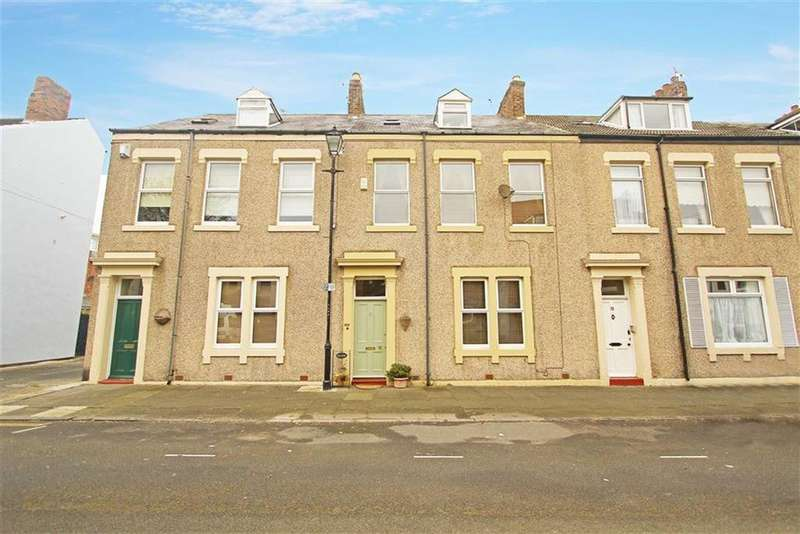 6 Bedrooms Terraced House for sale in Lovaine Row, Tynemouth, Tyne And Wear