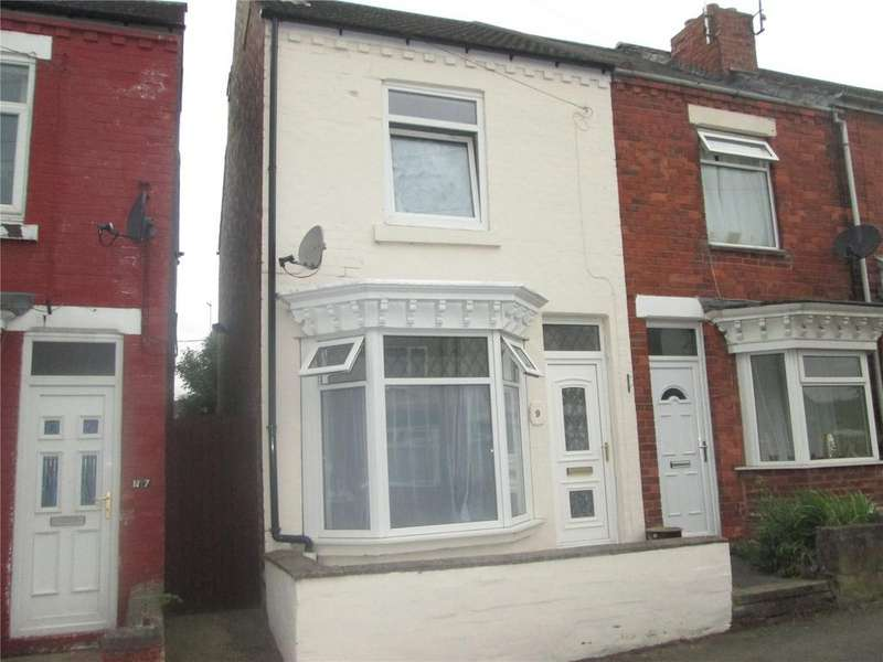 3 Bedrooms End Of Terrace House for sale in Queen Street, Creswell, Nottinghamshire, S80
