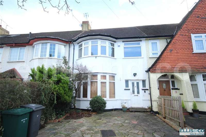 4 Bedrooms Terraced House for sale in Brockenhurst Gardens, Mill Hill, London, NW7