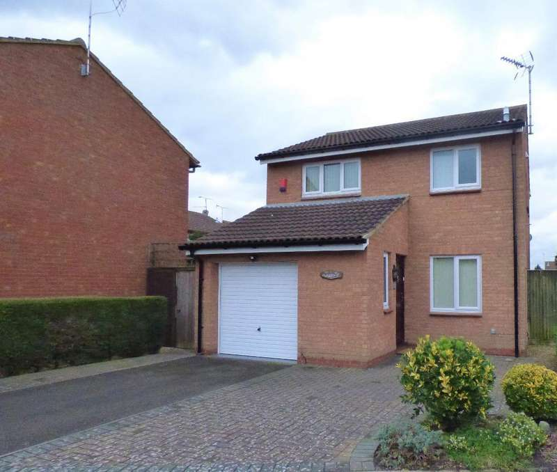 3 Bedrooms Detached House for rent in Morrell Close, Luton, LU3 3XB