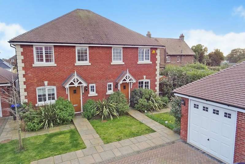 3 Bedrooms Semi Detached House for sale in Lily Gardens, Worthing BN13 2FB