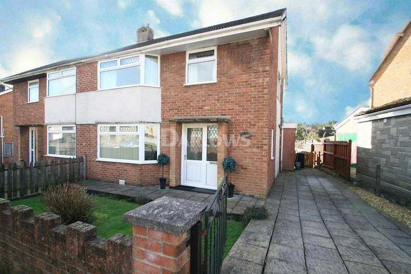 3 Bedrooms Semi Detached House for sale in Meadow Crescent, Tredegar, Gwent
