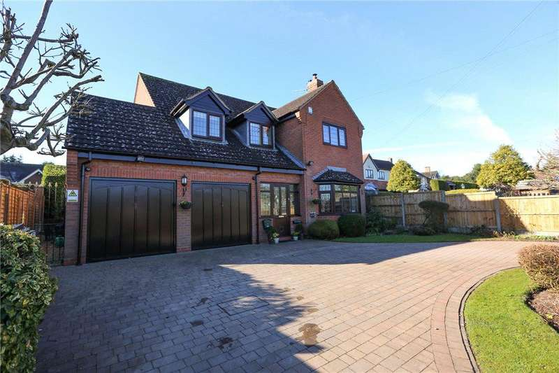4 Bedrooms Detached House for sale in Fairfield Road, Bournheath, Bromsgrove, B61
