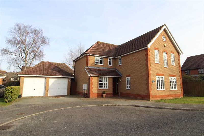 4 Bedrooms Detached House for sale in The Greens, Ipswich