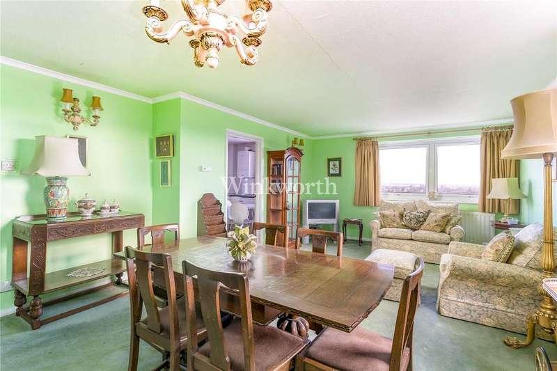 2 Bedrooms Flat for sale in Pellipar Close, London, N13