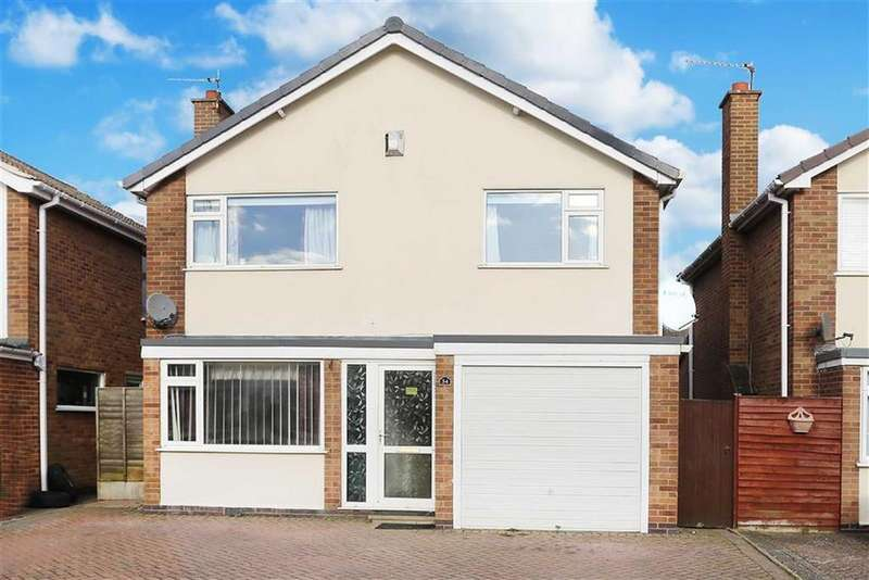3 Bedrooms Detached House for sale in Rowan Avenue, Lutterworth, Leicestershire