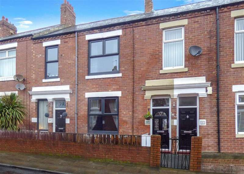 3 Bedrooms Terraced House for sale in Lansdowne Terrace, North Shields