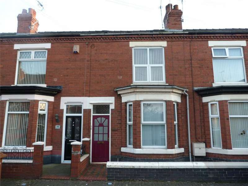 4 Bedrooms Terraced House for sale in Catherine Street, Crewe, Cheshire, CW2