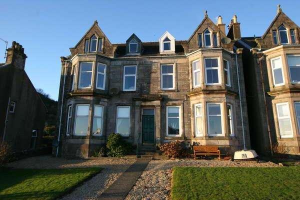 2 Bedrooms Flat for sale in 3 Windsor Terrace, West Bay, Millport, KA28 0HA