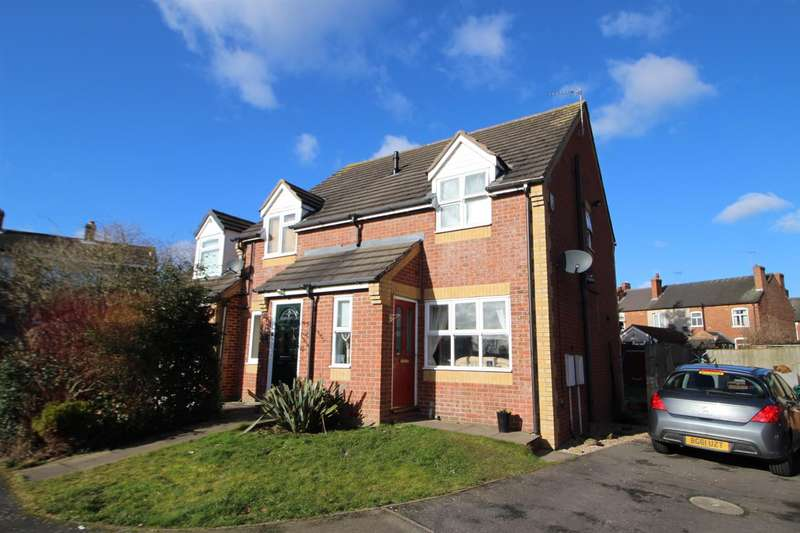 2 Bedrooms Semi Detached House for sale in Ladyfields Way, Newhall, Swadlincote