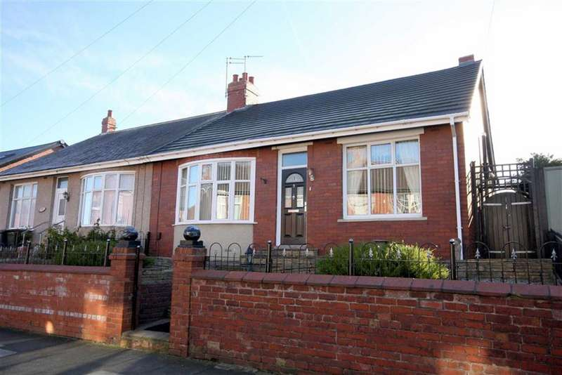 4 Bedrooms Semi Detached Bungalow for sale in Highbury Place, North Shields, NE29