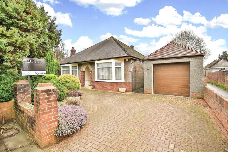 2 Bedrooms Detached Bungalow for sale in King George V Drive West, Cardiff