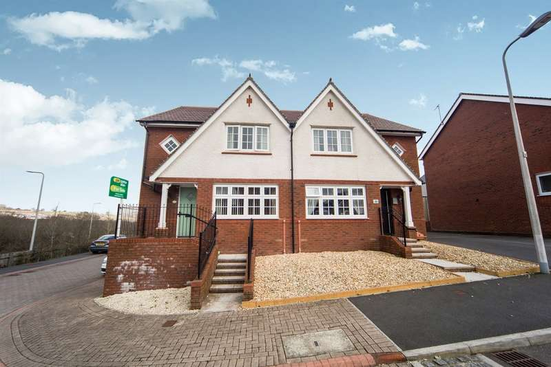 3 Bedrooms Semi Detached House for sale in Parc Dan Y Bryn, Tonyrefail, Porth