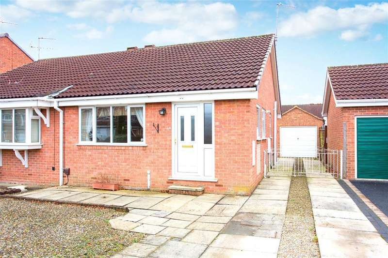 2 Bedrooms Semi Detached Bungalow for sale in Osprey Close, York, YO24