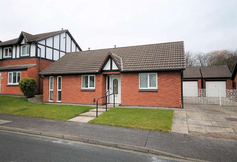 2 Bedrooms Detached Bungalow for sale in Hensley Court, Norton