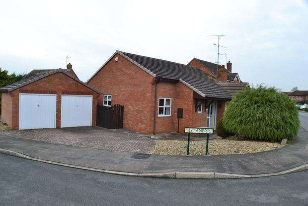 3 Bedrooms Bungalow for sale in Stanbrig, Wigston Harcourt, Leicester, LE18