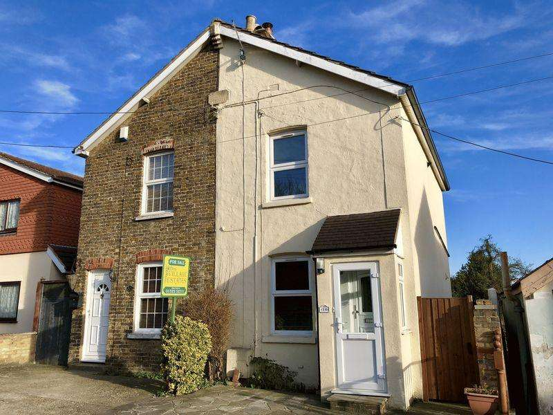 2 Bedrooms Semi Detached House for sale in Princes Road, Hextable