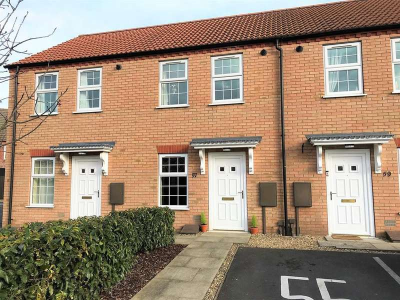 2 Bedrooms Terraced House for sale in Ambassador Walk, Spalding, PE11