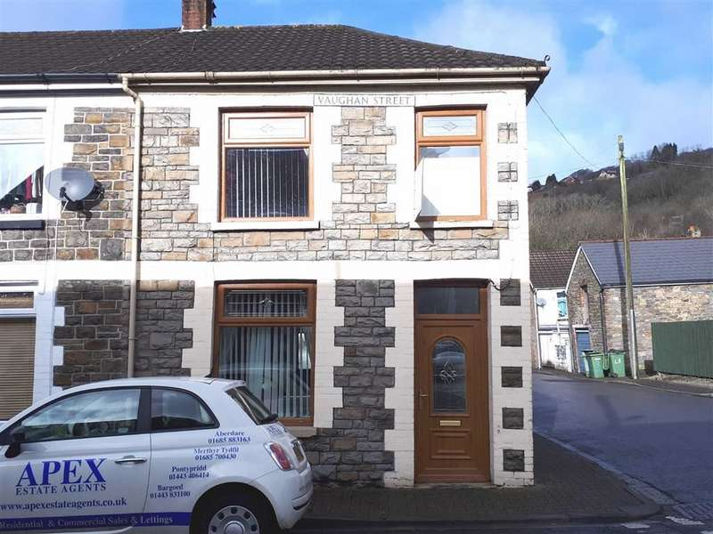 2 Bedrooms End Of Terrace House for sale in Vaughan Street, Pontypridd, Rhondda Cynon Taff
