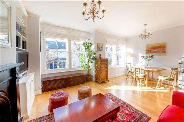 3 Bedrooms Maisonette Flat for sale in Trentham Street, LONDON, SW18 5AS