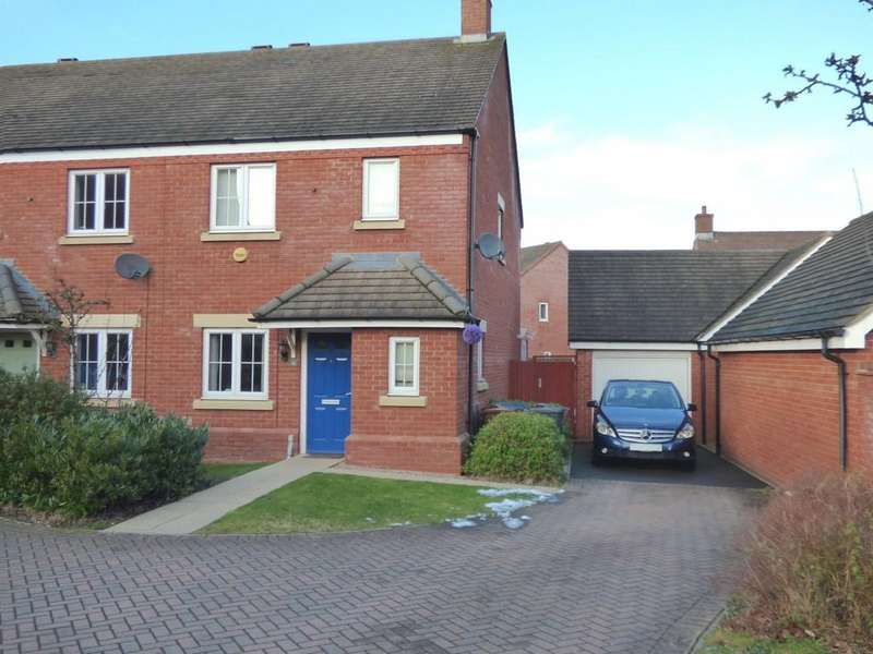 3 Bedrooms Town House for sale in Alamein Way, Lichfield