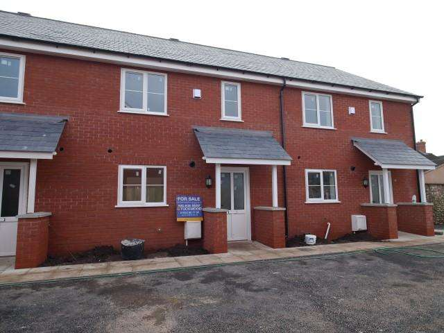3 Bedrooms Terraced House for sale in The Former Three Cups, Wellington TA21