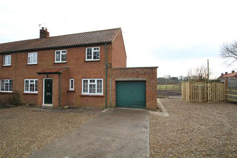3 Bedrooms Semi Detached House for rent in GLEBE COTTAGES, HUTTON STREET, HUTTON WANDESLEY, YORK, YO26 7NB