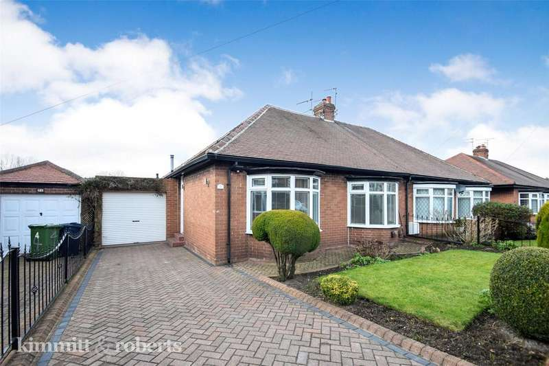2 Bedrooms Bungalow for sale in Brentwood Gardens, Sunderland, Tyne and Wear, SR3