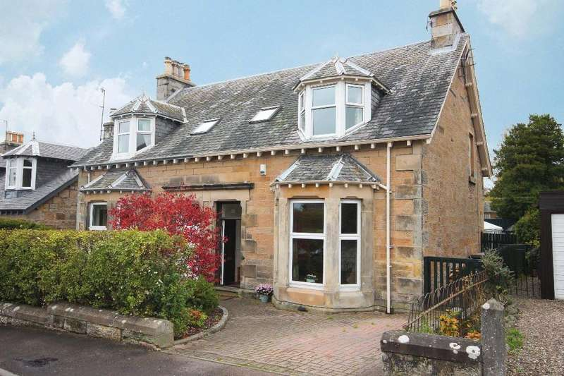 5 Bedrooms Semi Detached House for sale in Muirhall Terrace , Perth, Perthshire , PH2 7ES