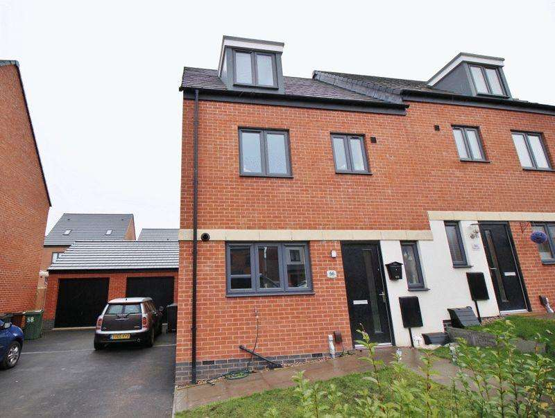 4 Bedrooms Semi Detached House for sale in Akron Drive, Oxley