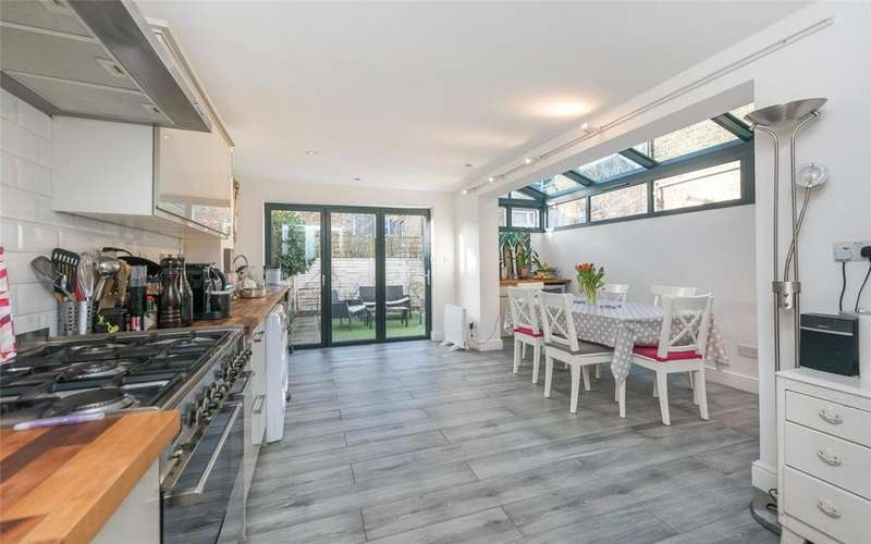 4 Bedrooms Terraced House for sale in Napier Road, Kensal, London, NW10