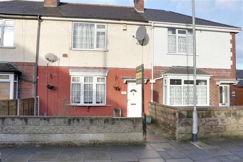 2 Bedrooms Town House for sale in Grice Road, Hartshill, Stoke-on-Trent