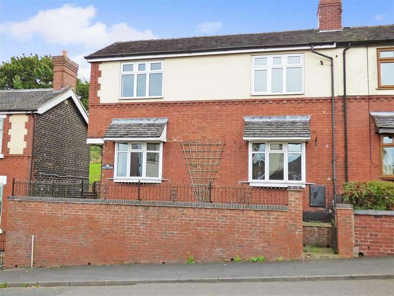 2 Bedrooms Semi Detached House for sale in High Street, Alsagers Bank, Stoke-on-Trent